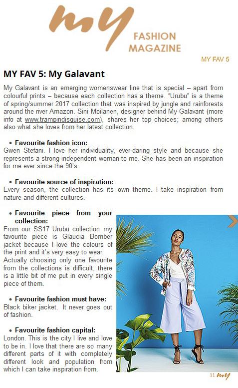 my fashion mag